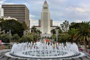 City Hall of Los Angeles, CA