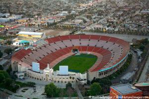 Los Angeles Memorial Coliseum, California.